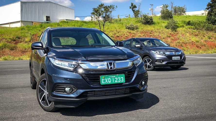Teste e vídeo: Honda HR-V Touring 1.5 turbo vale R$ 45,5 mil a mais que o LX?