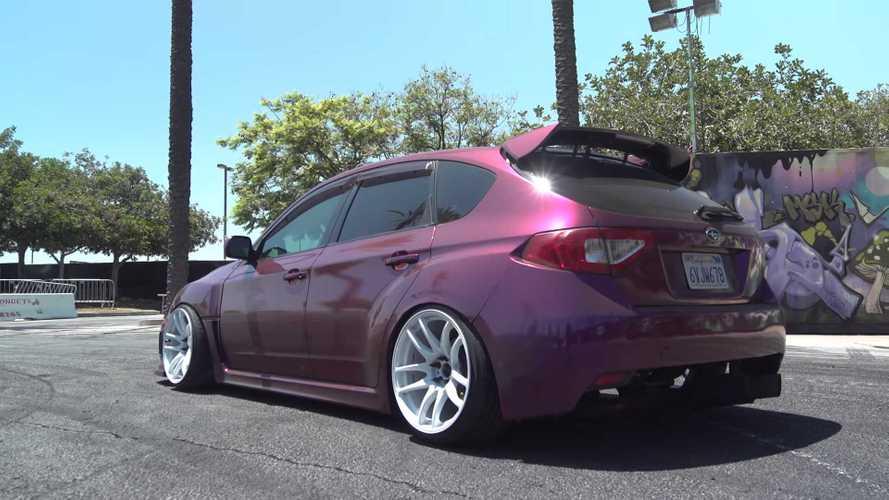 Subaru WRX de propulsión trasera