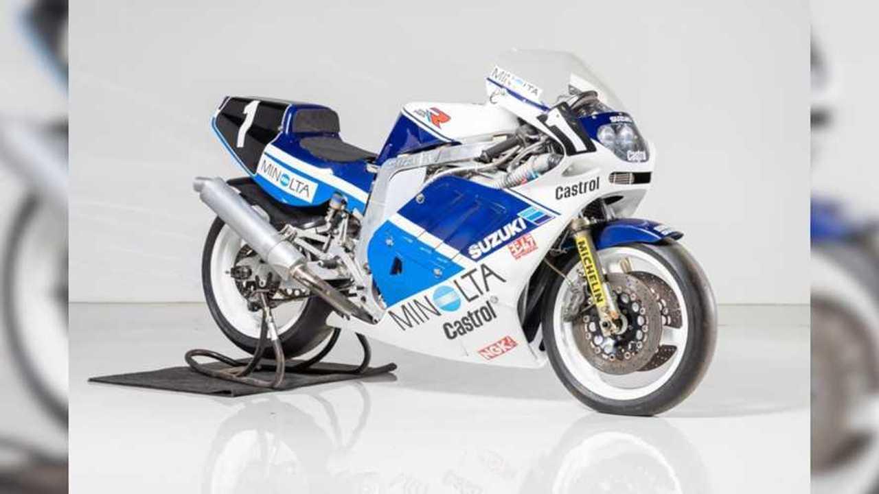 1988 Minolta Suzuki GSXR-750R TT-F1 Racer