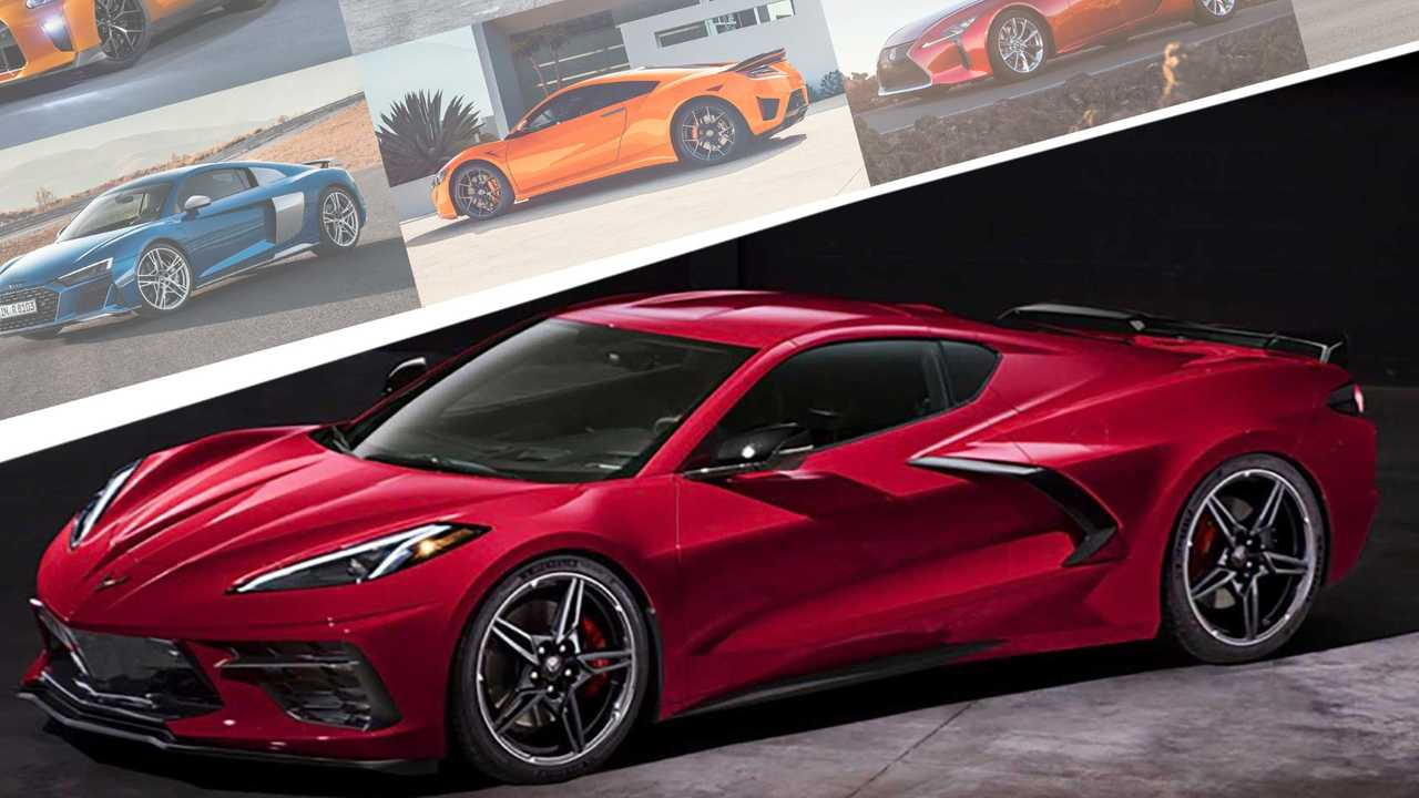 2020 chevrolet corvette vs  its primary competitors