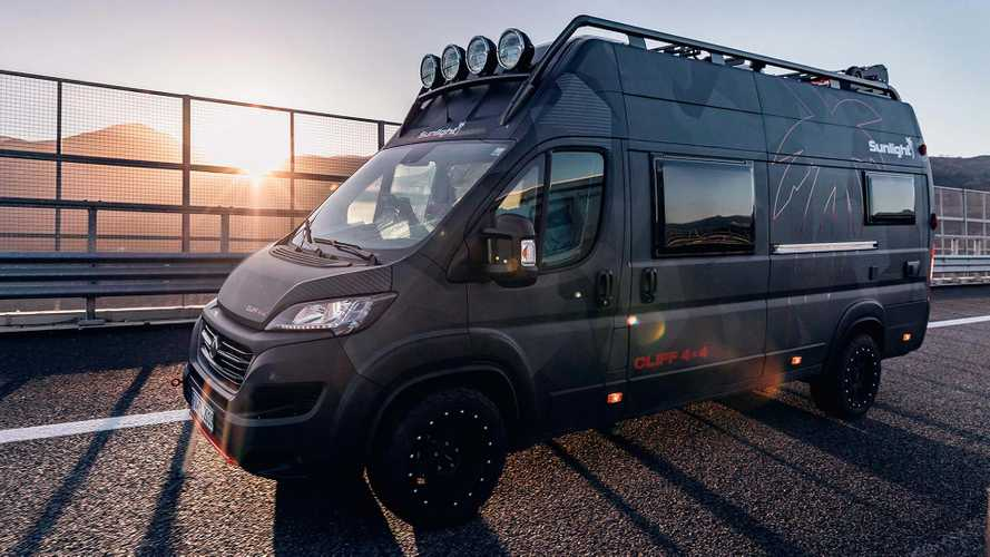 Get some hammock time with this rugged Ducato campervan