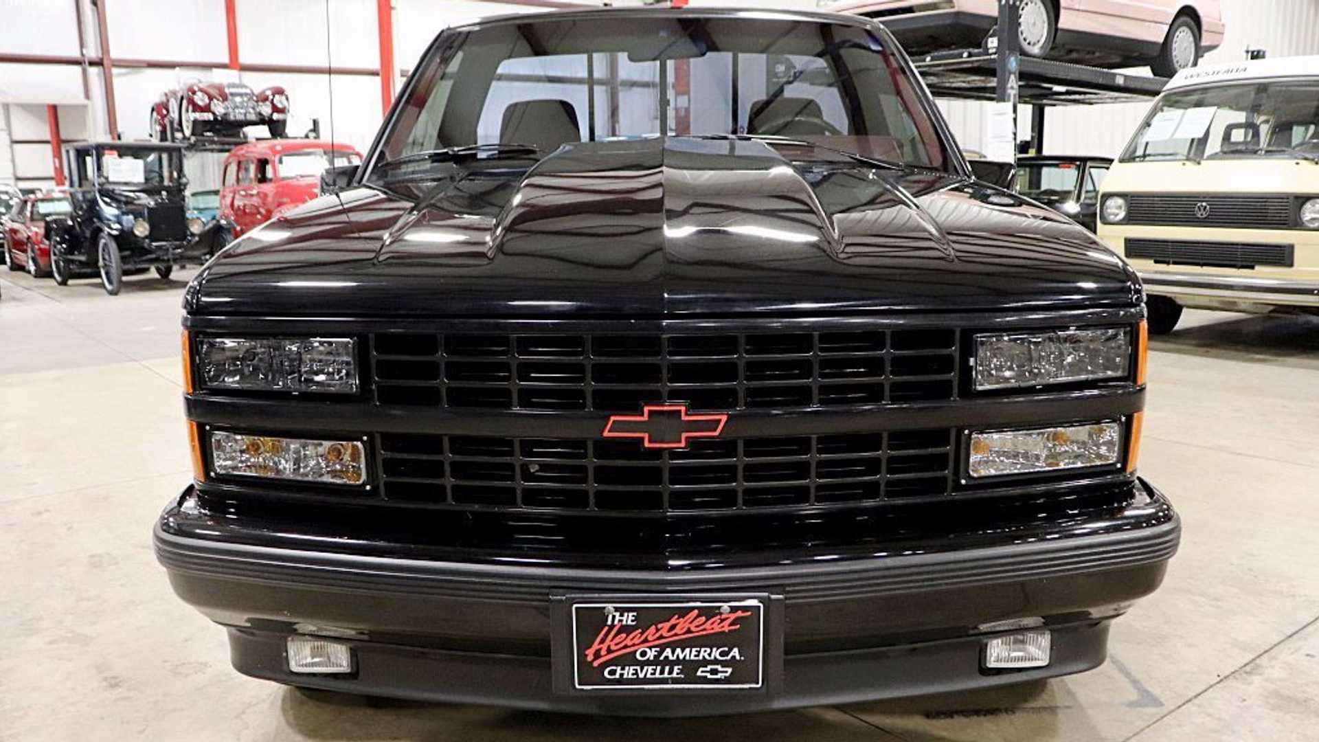 """[""""1990 Chevy 1500 454 SS Represents 90s Performance Truck Culture""""]"""