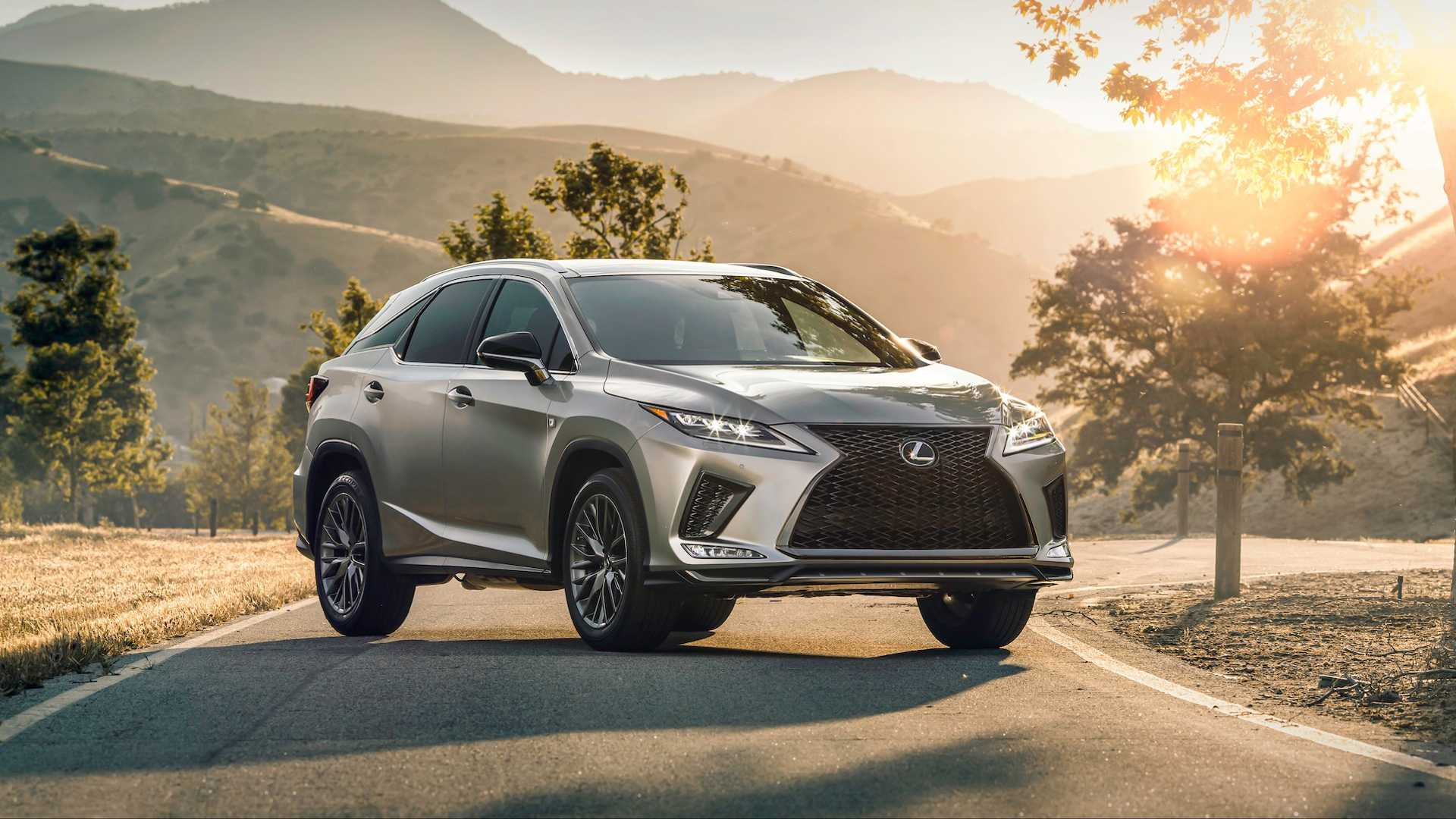 2020 Lexus Rx 350 F Sport Suv Price and Review