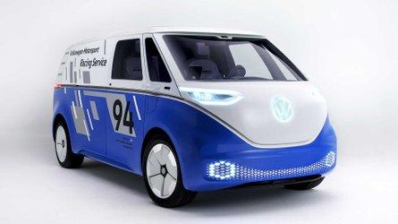 Le Volkswagen I.D. Buzz Cargo en tenue de sport à Los Angeles