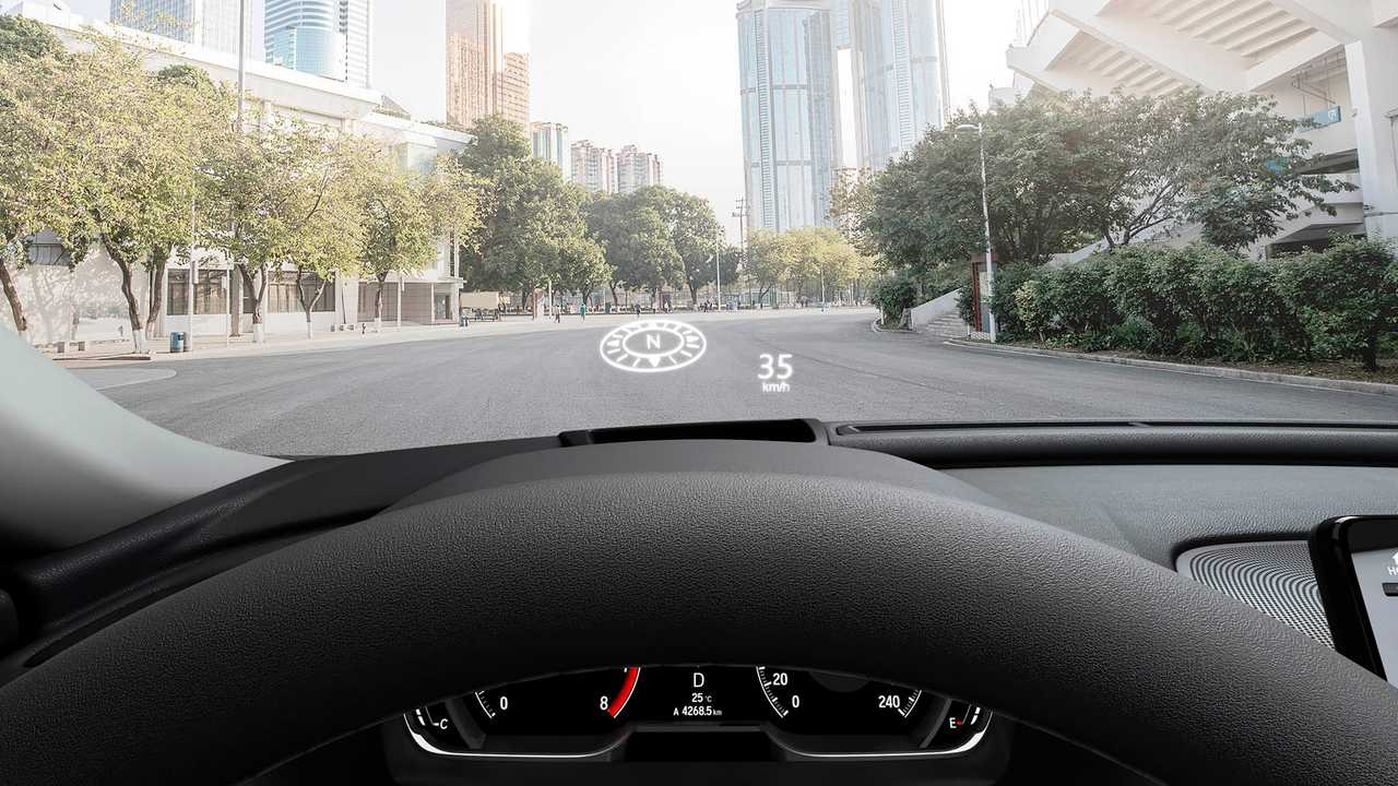 Head-up display do Accord 2019