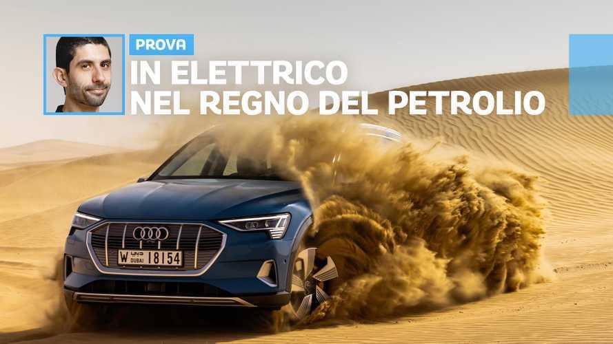 Audi e-tron, com'è guidare un'elettrica dove nasce l'oro nero