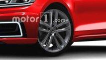 Volkswagen Golf, il rendering dell'ottava generazione