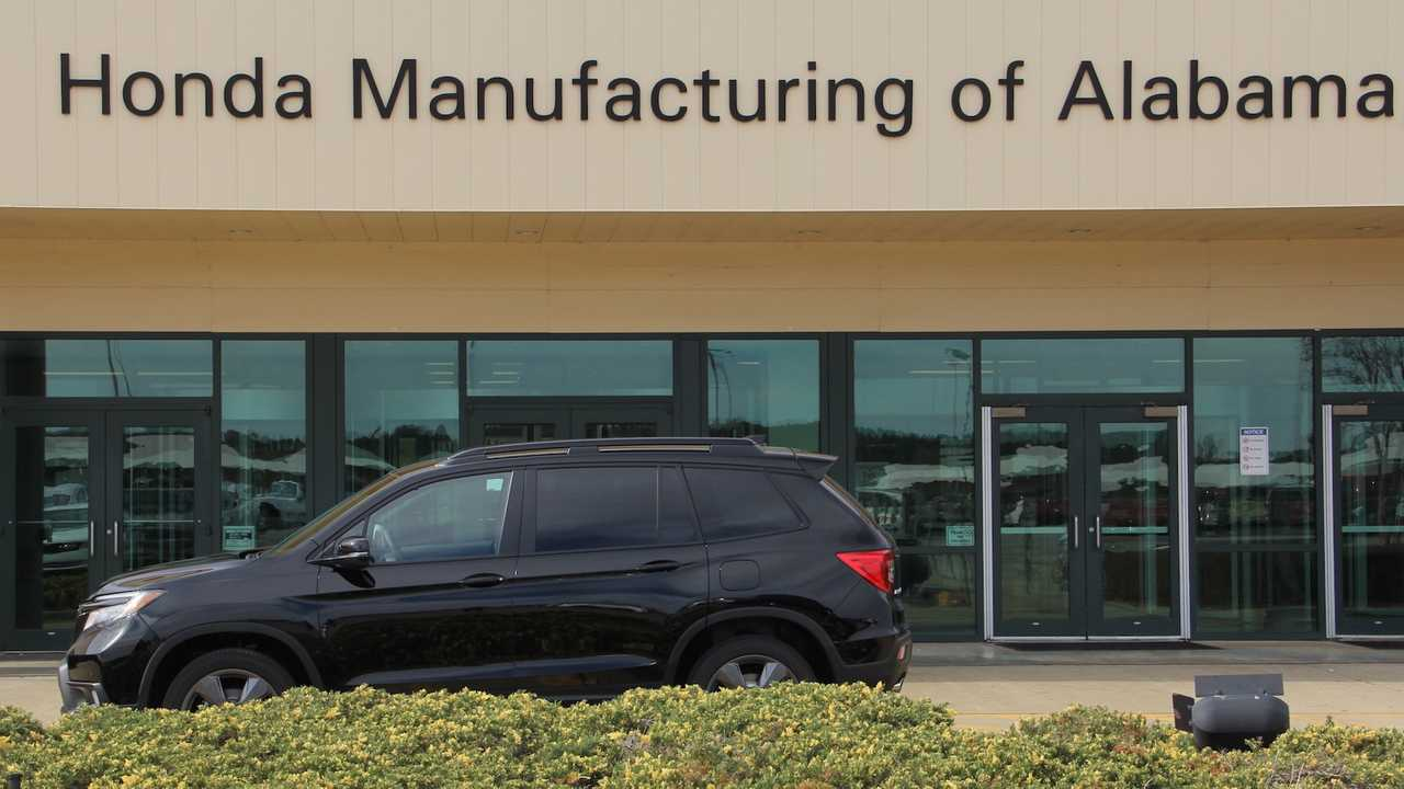 Honda Passport Starts Rolling Off The Assembly Line In Alabama Update