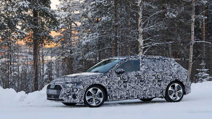 2020 Audi S3 Sportback new spy photos