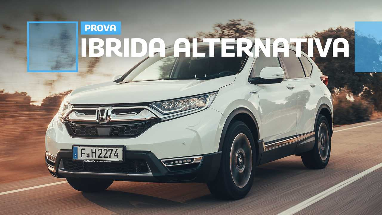 Copertina Honda CR-V Hybrid prova