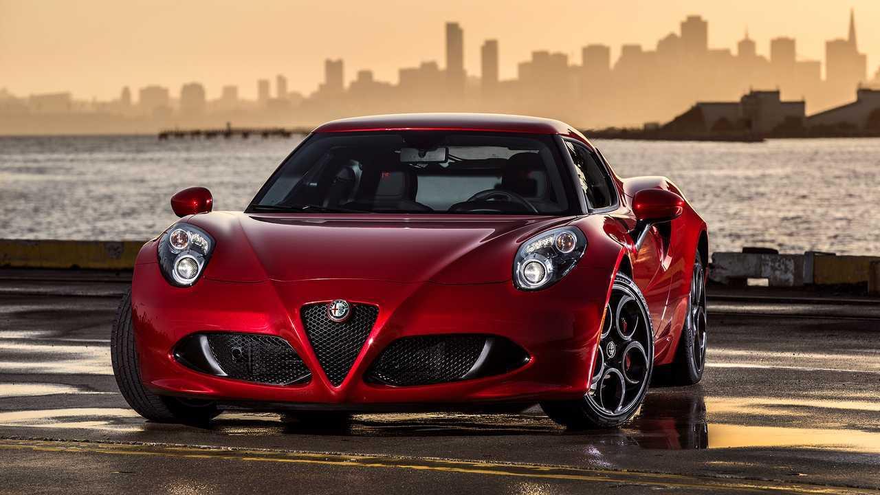 1. Alfa Romeo 4C: 238 units