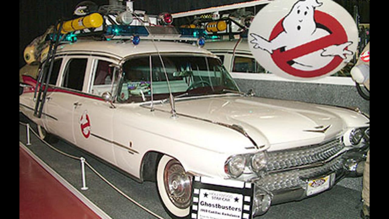 In vendita la ECTO1 dei Ghostbusters