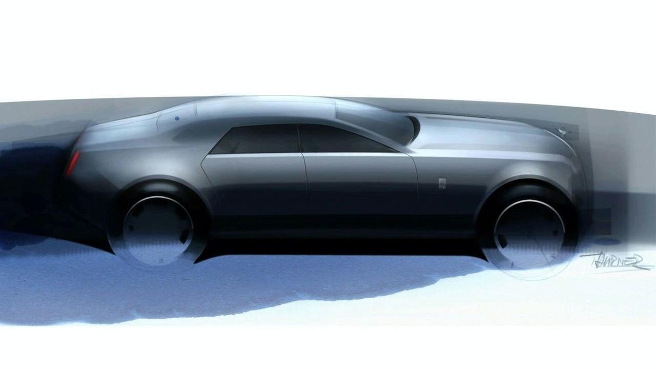 2010 Rolls Royce RR4 sketch