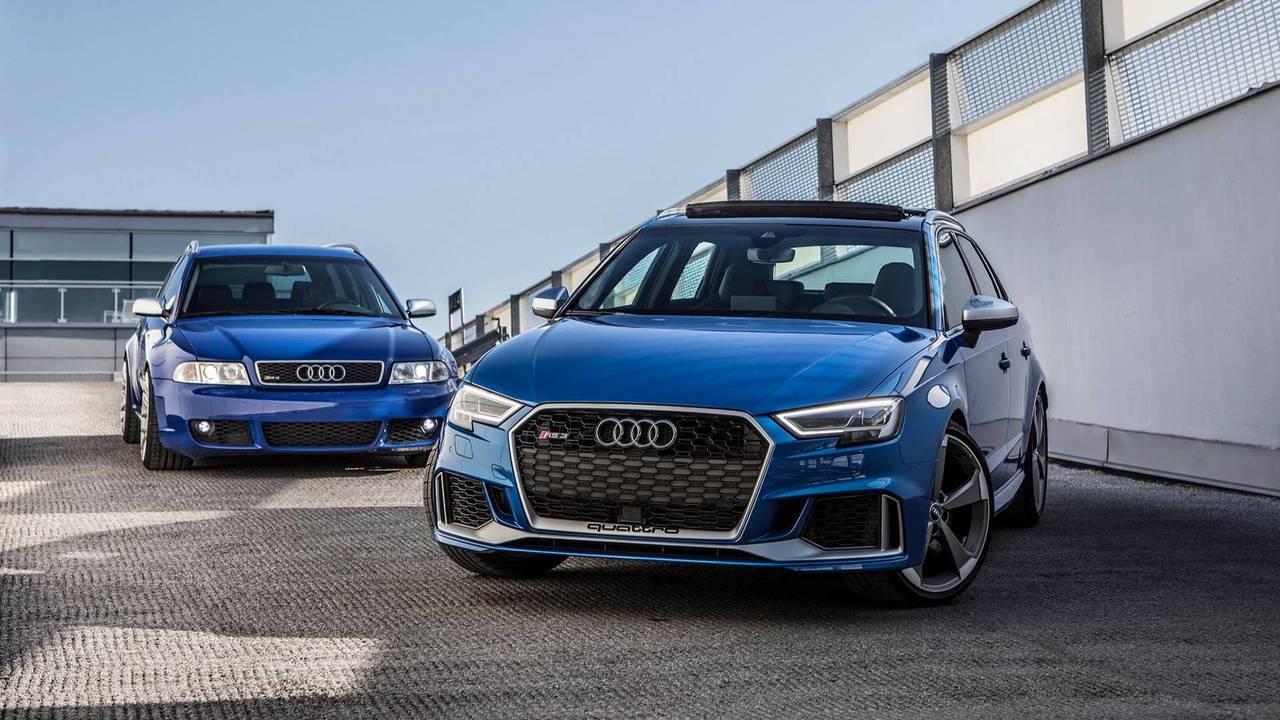 Audi Rs3 2018 >> Audi RS3 Sportback Vs 2001 Audi RS4 Avant Is A Fun Family Feud