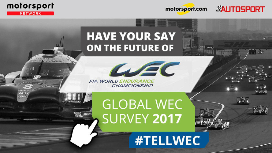 FIA WEC Teams With Motorsport Network For Sportscar Fan Survey