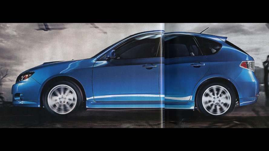 Scoop: la nuova Subaru Impreza sarà così?