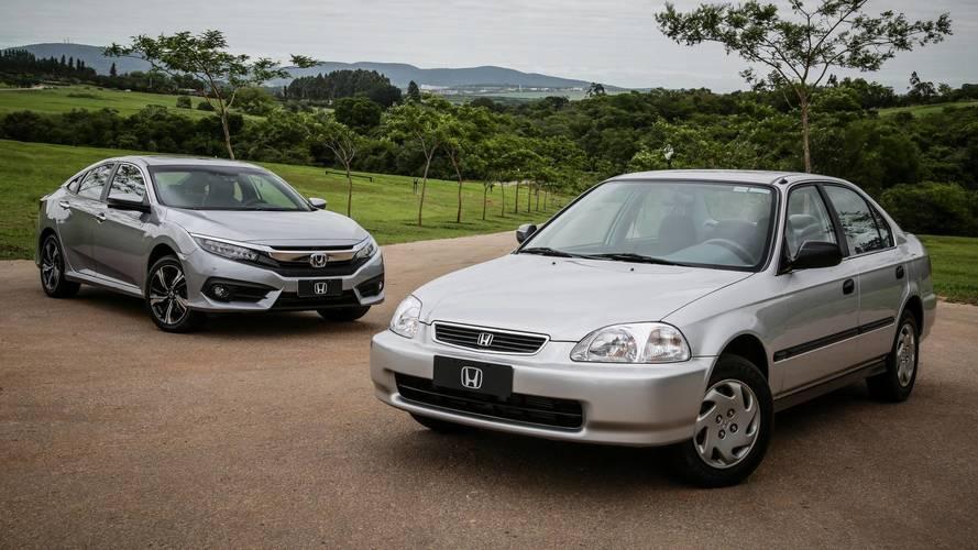 Honda comemora 2 milhões de carros vendidos no Brasil
