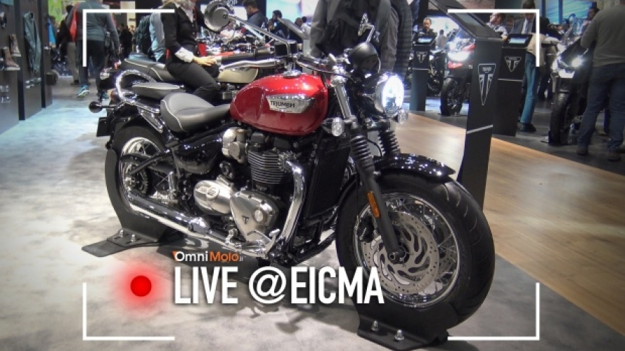 Triumph Bonneville Bobber Black e Speedmaster: le due novità made in Hinckley [VIDEO]