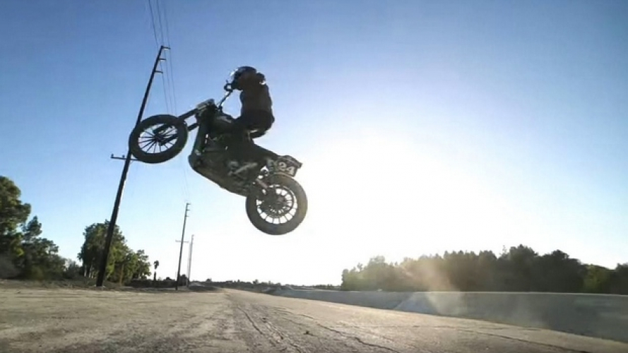 RSD X Indian Motorcycle: american jump! [VIDEO]