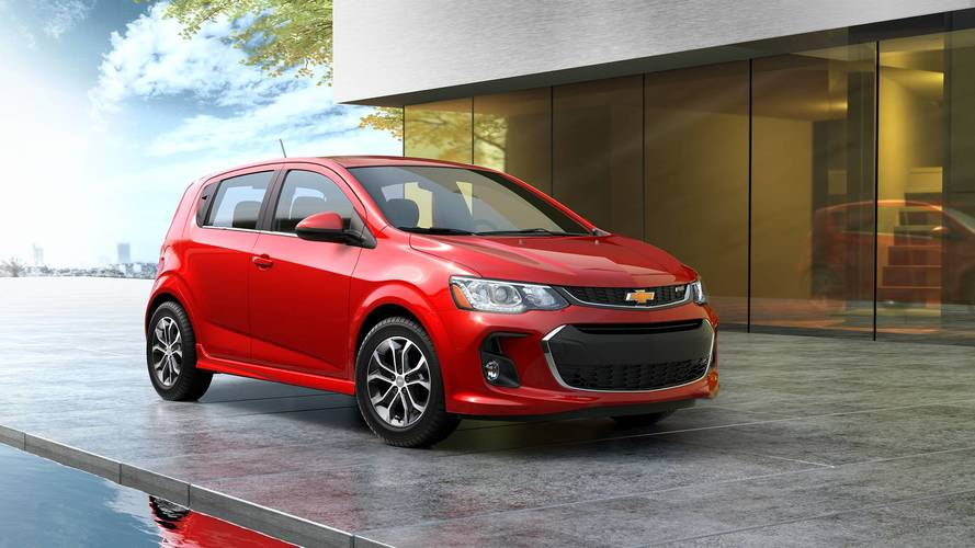 GM Reportedly Cutting Chevy Sonic From Lineup