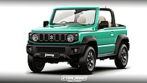 Suzuki Jimny illustrations