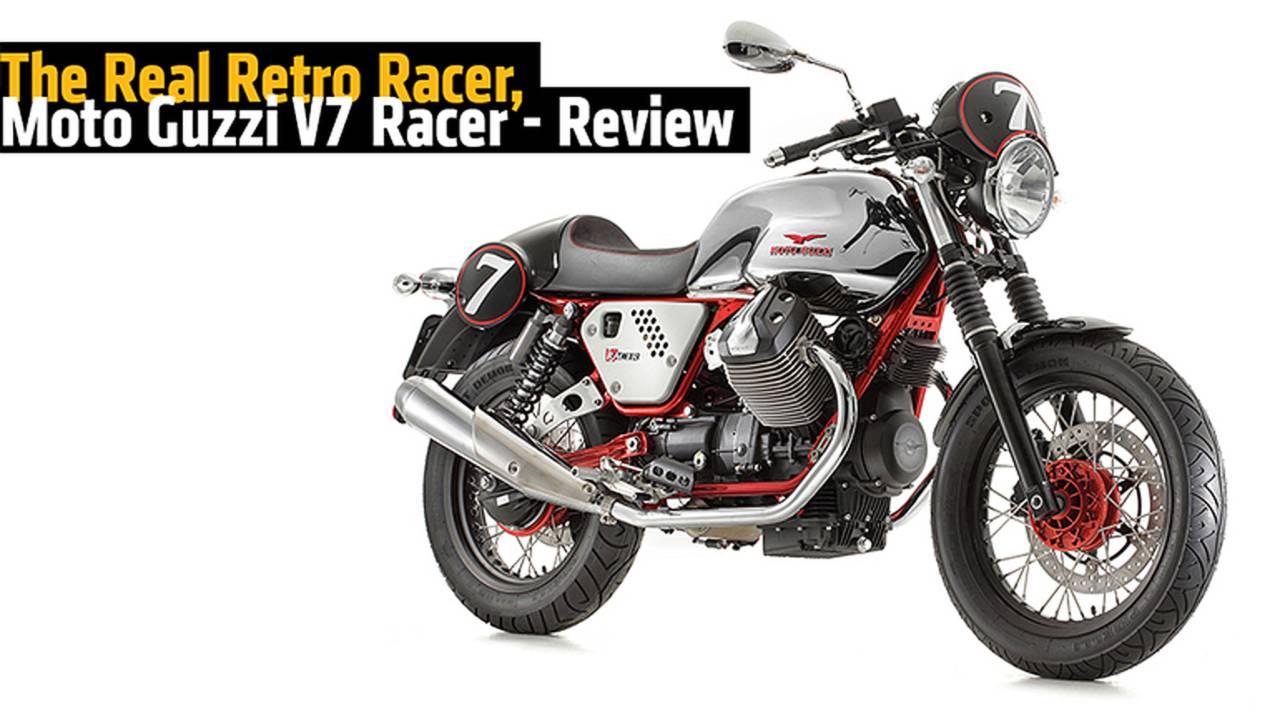 The Real Retro Racer, Moto Guzzi V7 Racer - Review