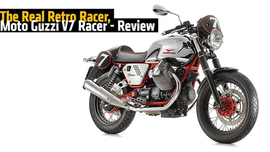 The Real Retro Racer, Moto Guzzi V7 Racer - Review