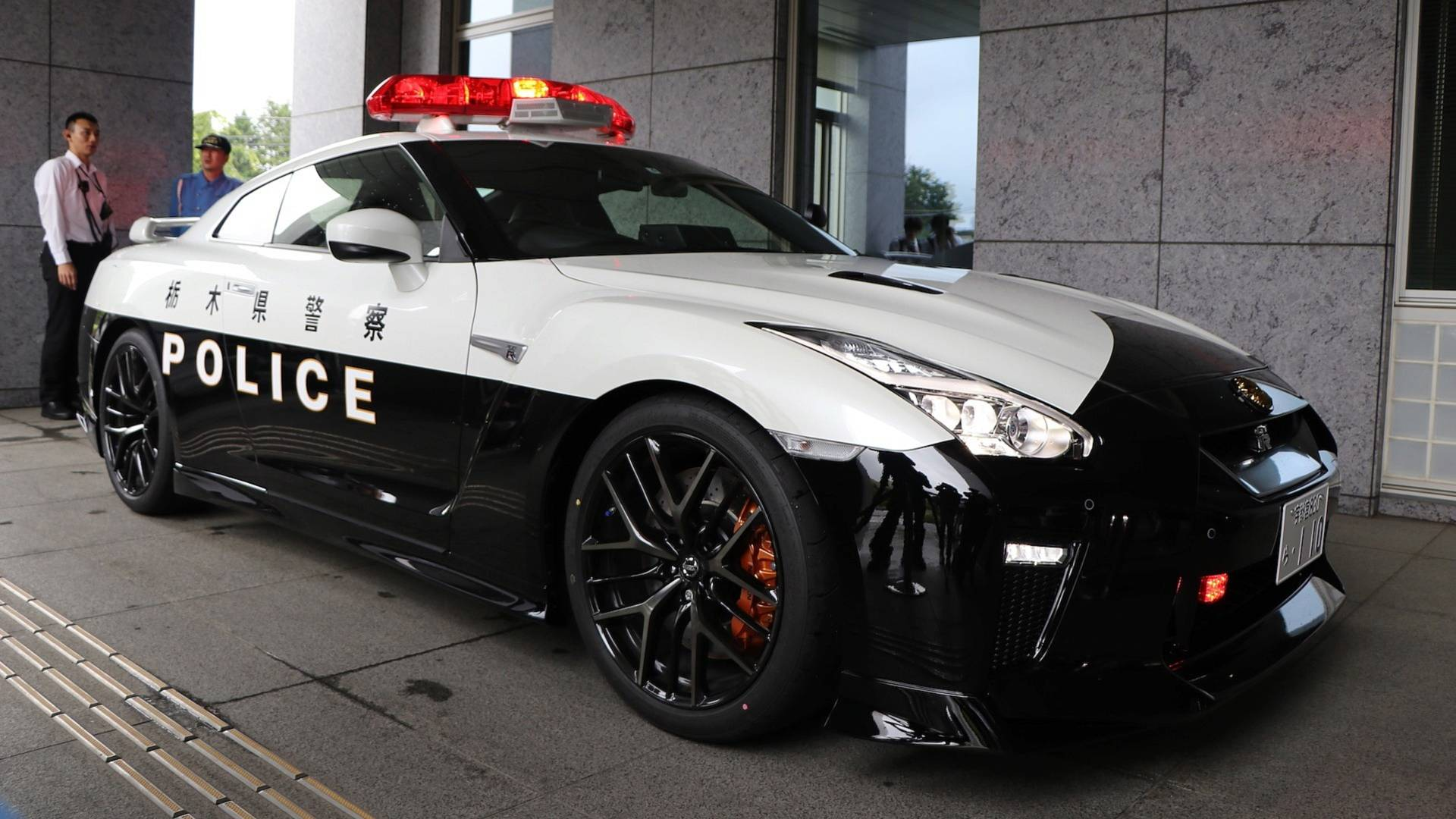 Someone Donates A Nissan Gt R To Police In Japan