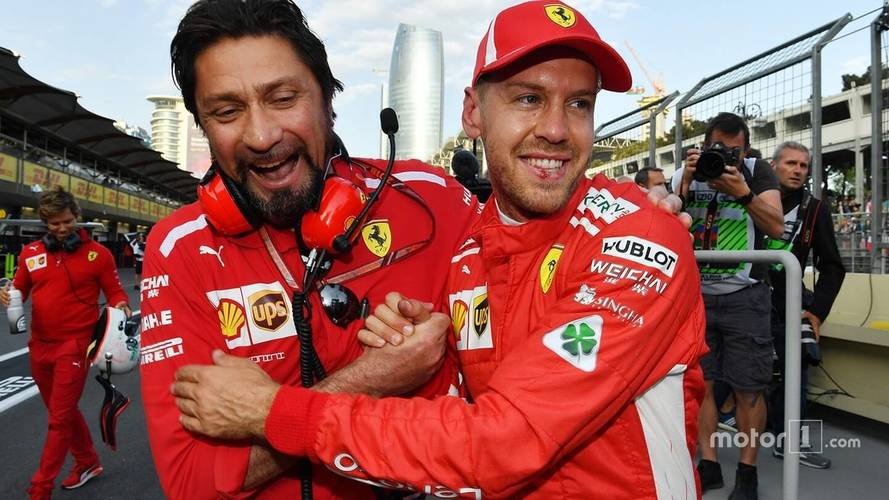 2018 F1 Azerbaijan GP: Vettel Beats Mercedes Duo To Pole