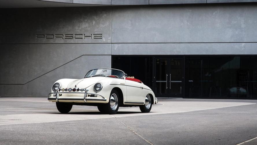 Un Porsche 356 A Super Speedster, a subasta