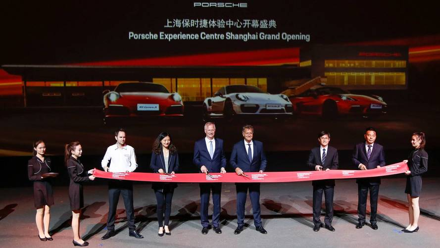 Porsche inaugure son sixième Porsche Experience Center à Shanghai