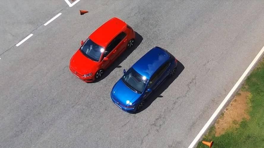Sibling Rivalry: VW Polo GTI Drag Races Golf GTI