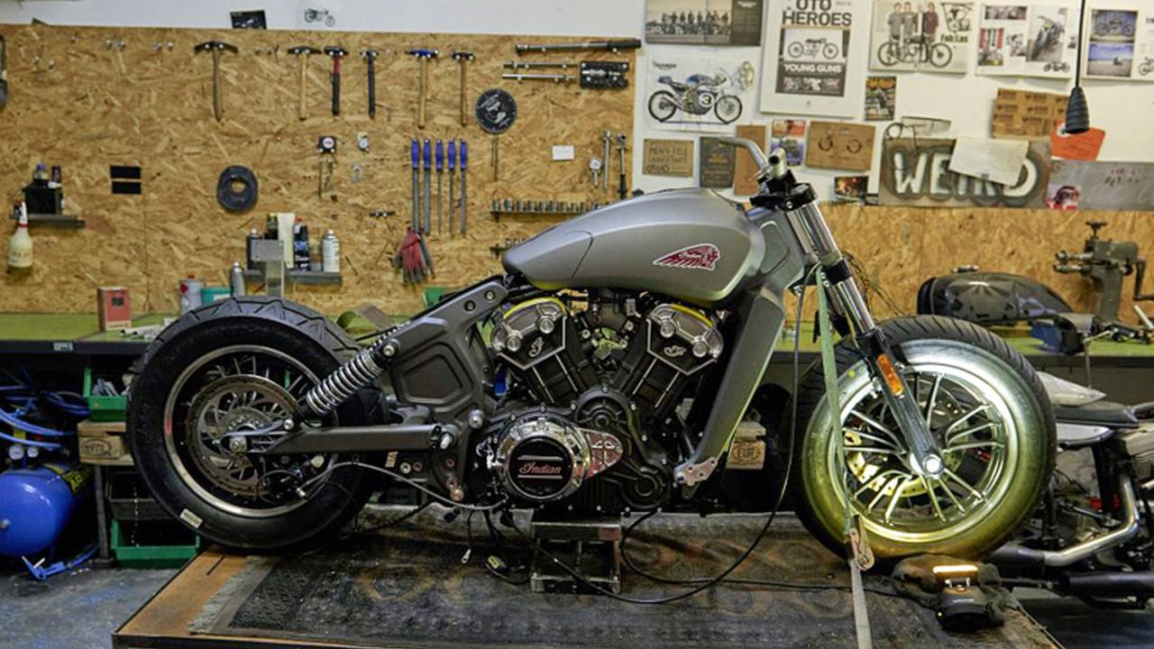 Young Guns Indian Scout Update