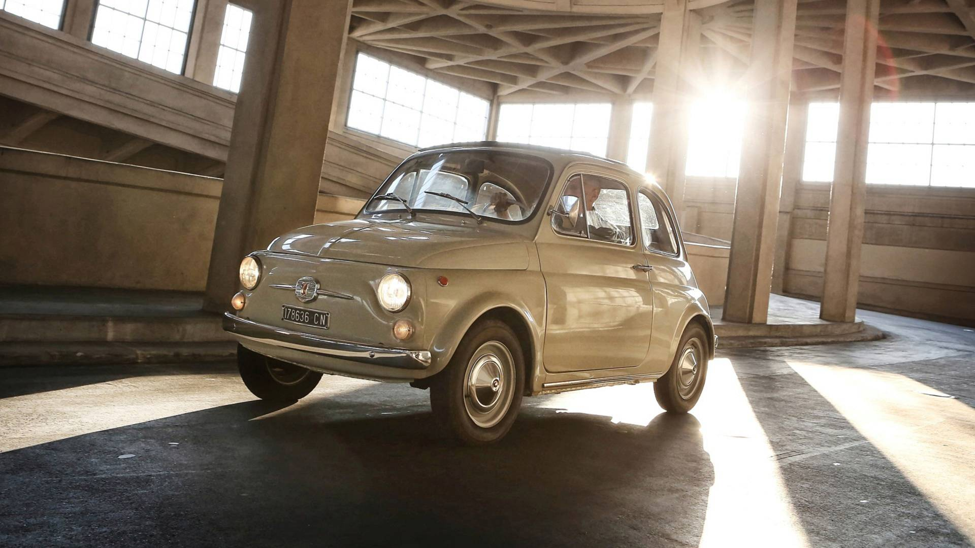 Classic FIAT 500 F L cylindre de frein roue avant neuf-très haute qualité