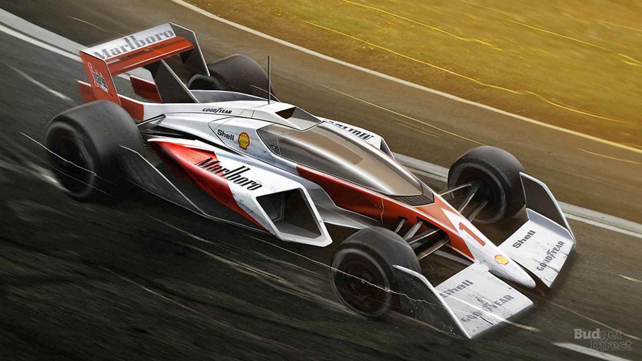 McLaren Formel-1-Auto