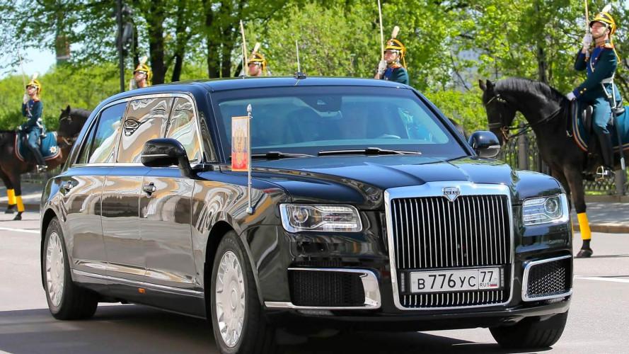 Prunkwagen für Putin