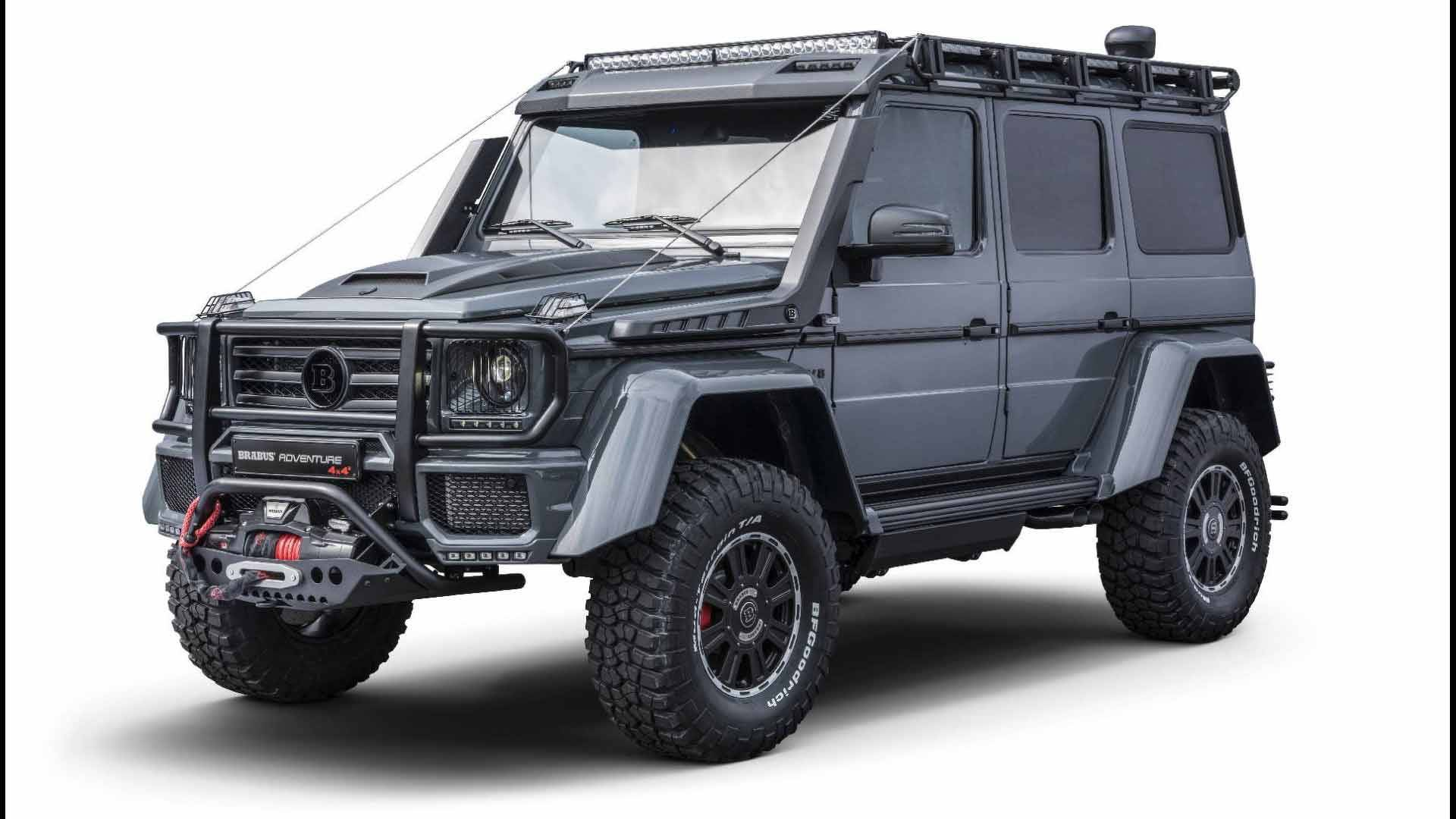 Brabus G Wagon >> Brabus Adventure 4x4 Proves The Old Mercedes G Class Is Still Mean