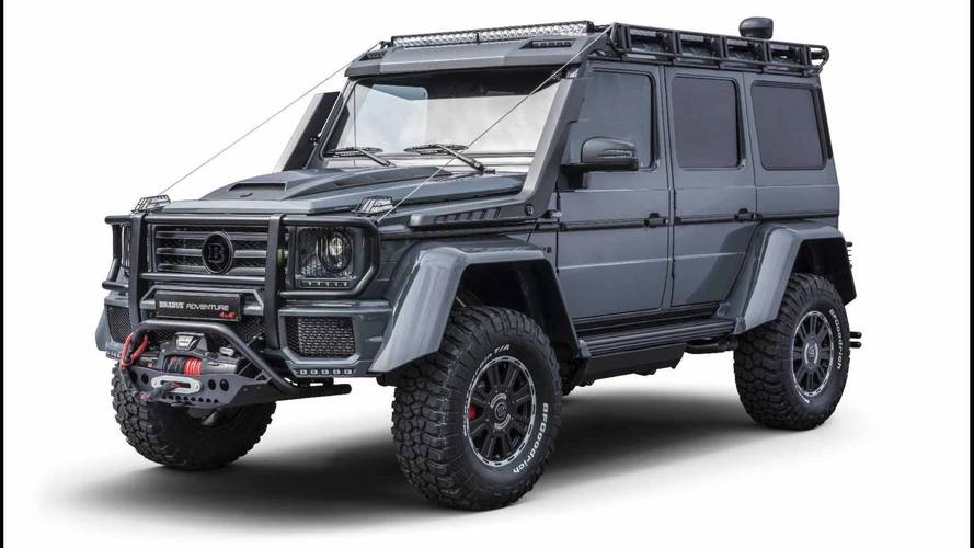 BRABUS Adventure 4x4², un todoterreno imparable