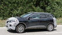 2019 Renault Kadjar facelift spy photo
