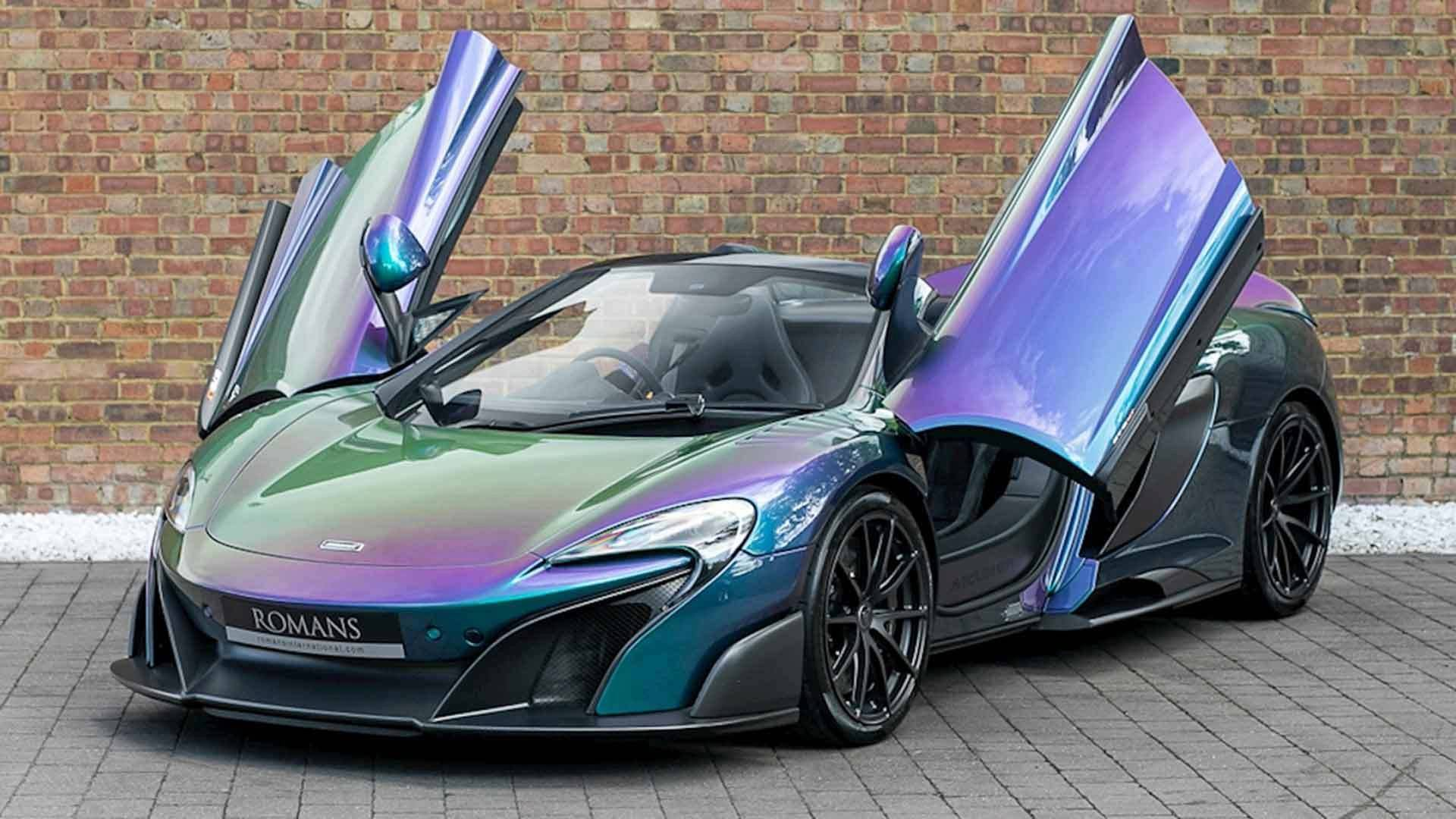 Cost To Paint A Car >> The Paint On This Mclaren 675lt Cost More Than A New Civic