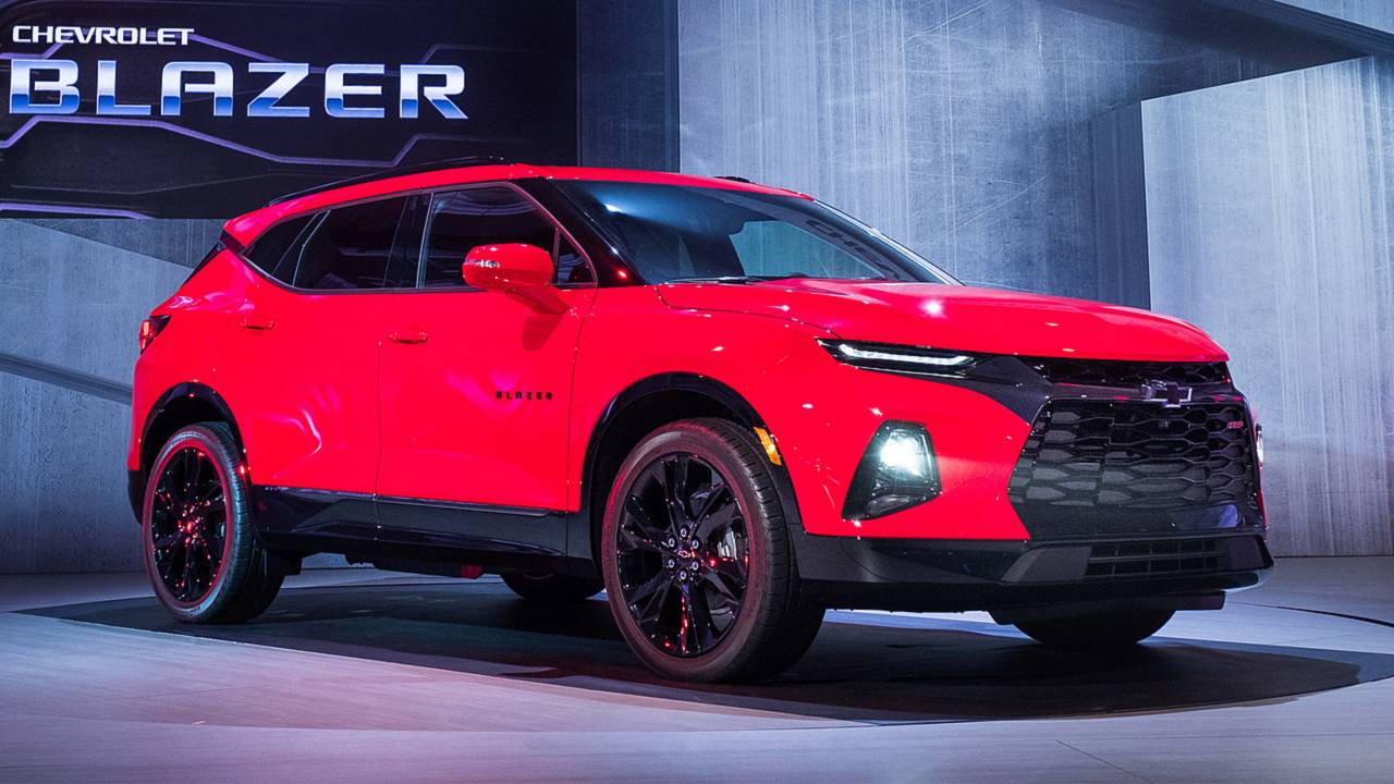 2019 Chevy Blazer reveal