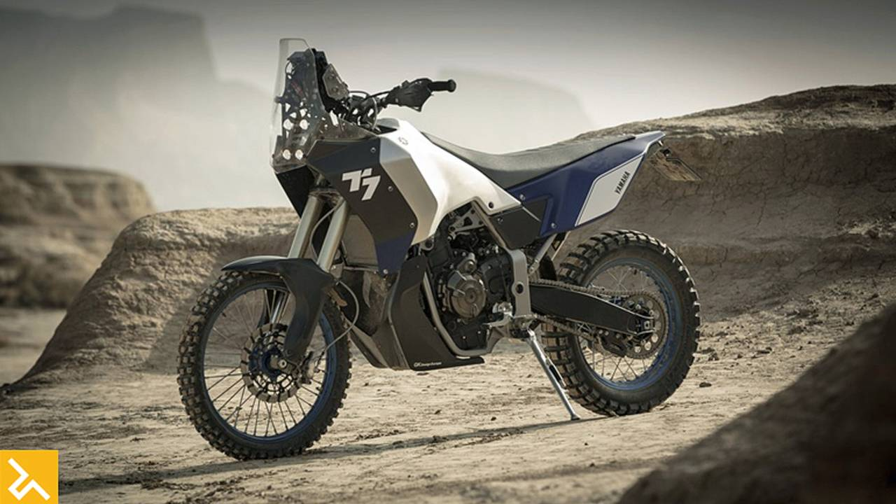 Yamaha T7 Ultimate Off Road ADV Bike Concept
