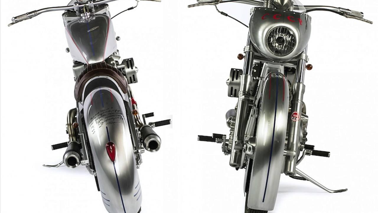 Bike of the Week: Shif Custom's Yuri Gagarin Tribute