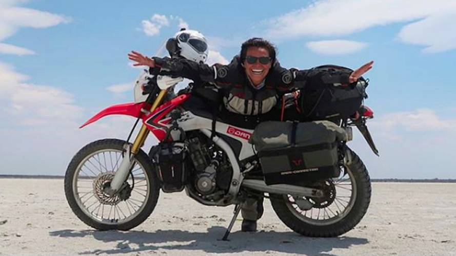 Turkish Woman's Ultimate African Moto Journey