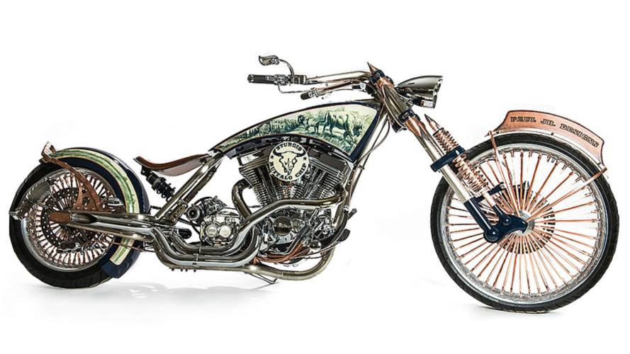 Paul Jr's Sturgis Buffalo Chip Custom up for Auction