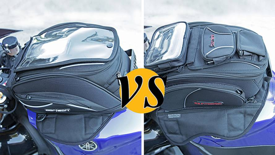 Tank Bag Comparison: Cortech Super 2.0 18L vs Tourmaster Elite 14L