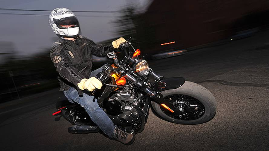 Riding the 2016 Harley-Davidson Sportster Forty-Eight and Street 750