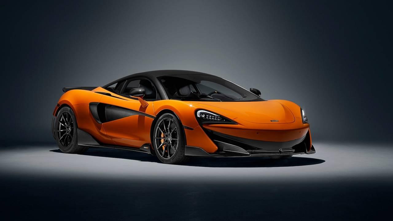 Turuncu McLaren 600LT