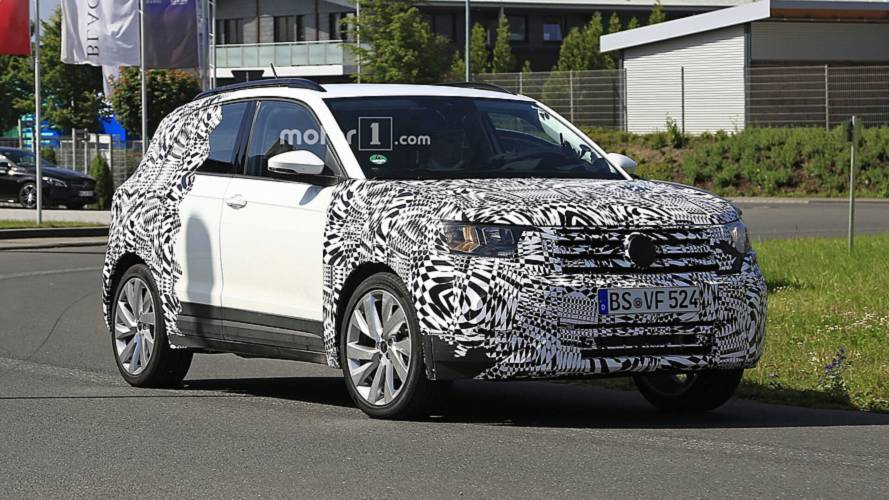 2019 VW T-Cross spied looking cute ahead of official debut