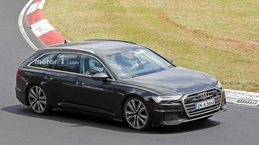 Audi S6 Avant 2018: nuevas fotos espía, rodando en circuito